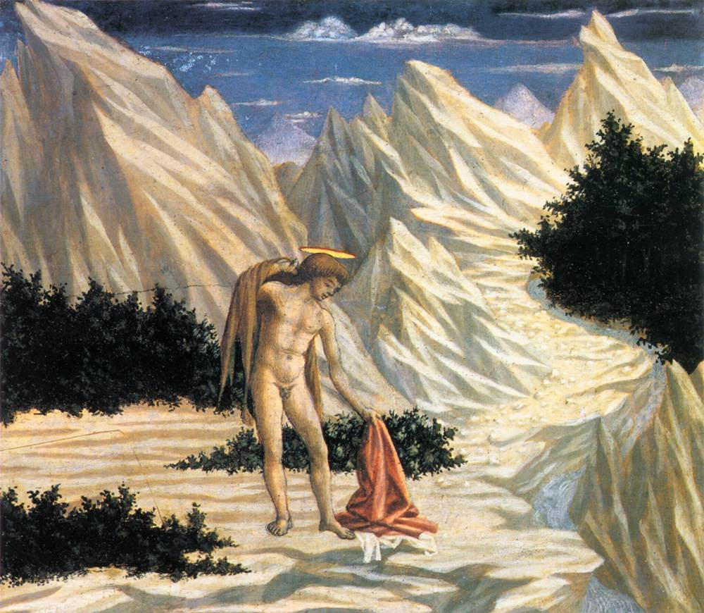 St John in the Wilderness (predella 2)