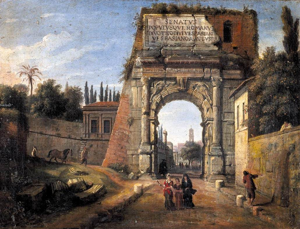 Rome: View of the Arch of Titus