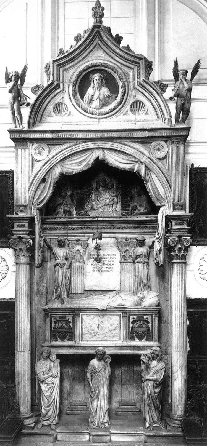 Tomb of Cardinal Rainaldo Brancacci