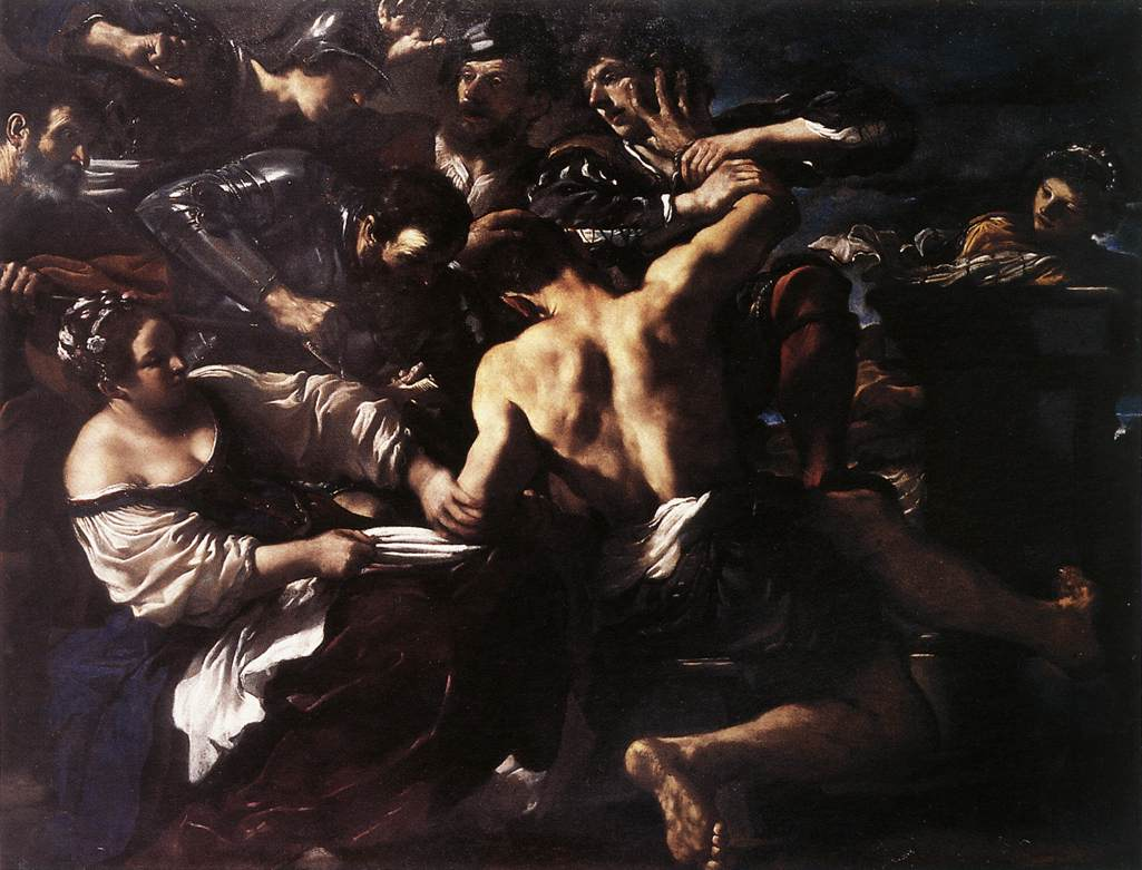 Samson Captured by the Philistines