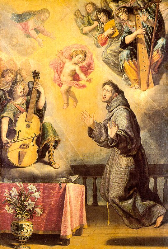 The Vision of St. Anthony of Padua