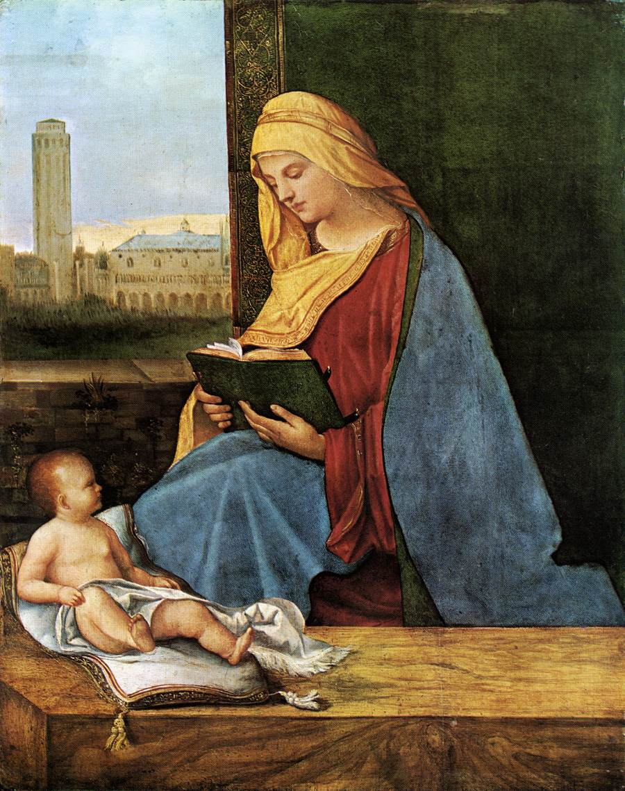 The Reading Madonna