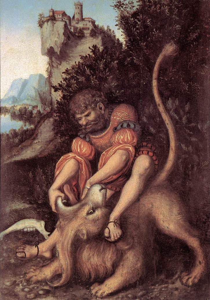 Samson's Fight with the Lion