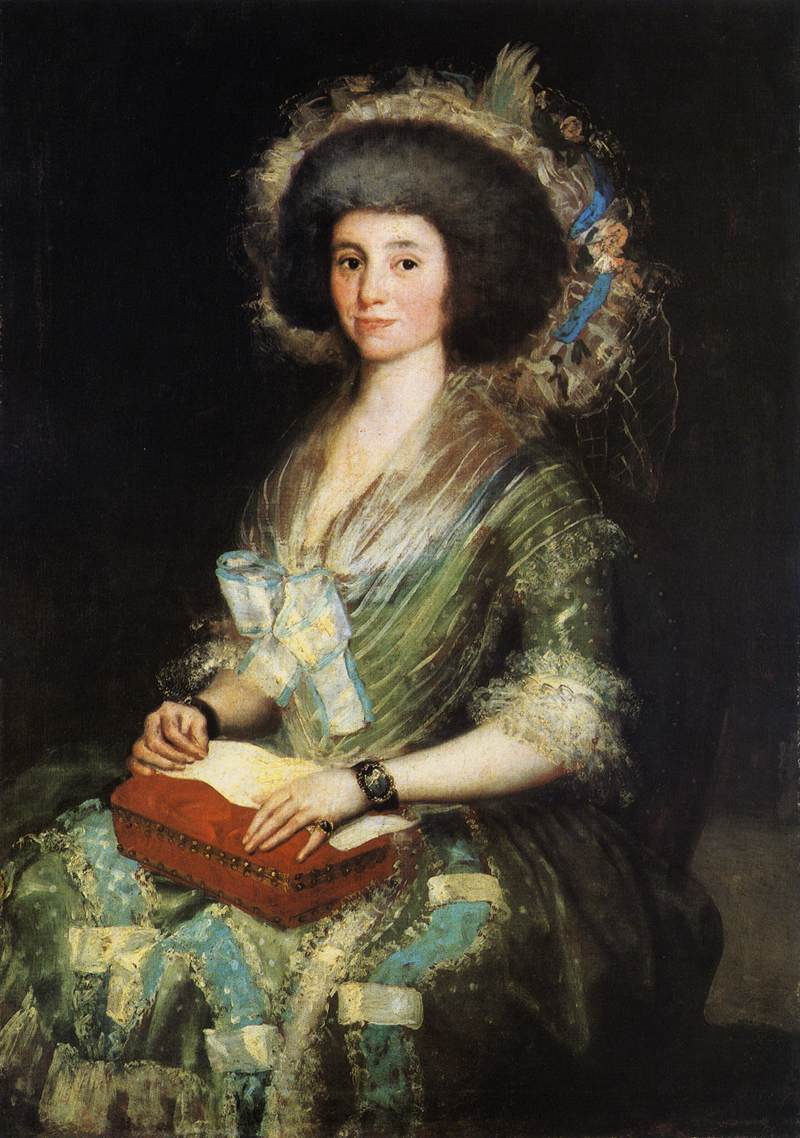Portrait of the Wife of Juan Agustín Ceán Bermúdez