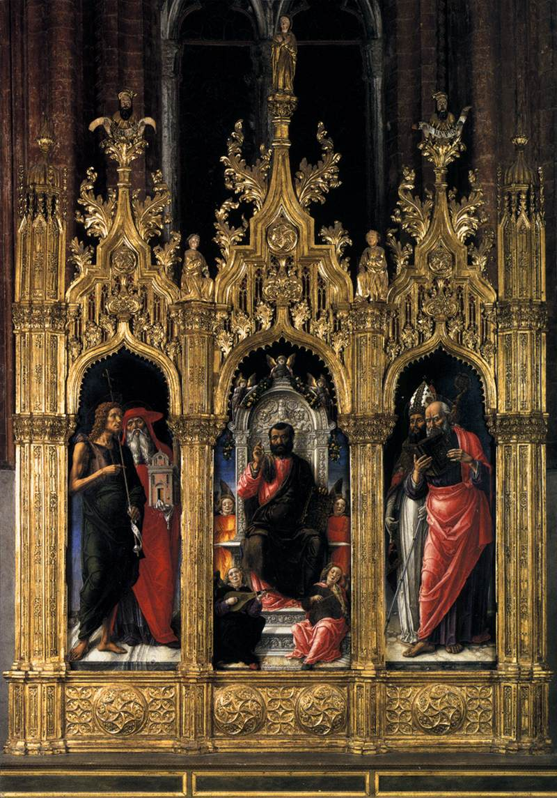 Triptych of St Mark (Pala di San Marco)