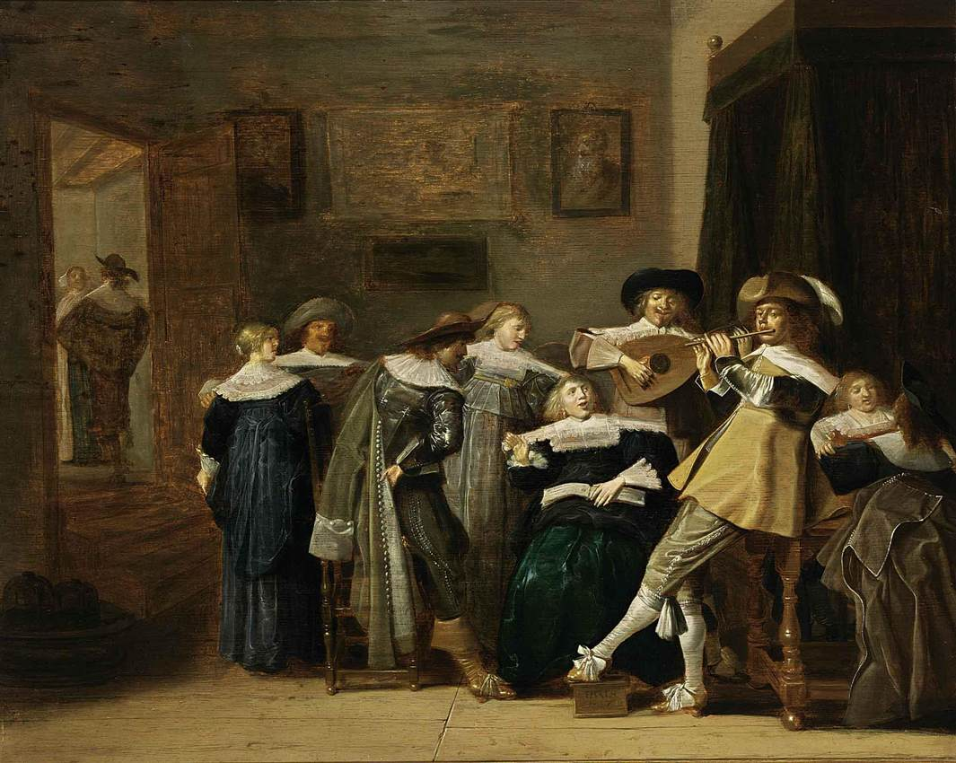 An Elegant Company Playing Music