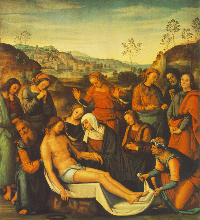 The Mourning of the Dead Christ (Deposition)
