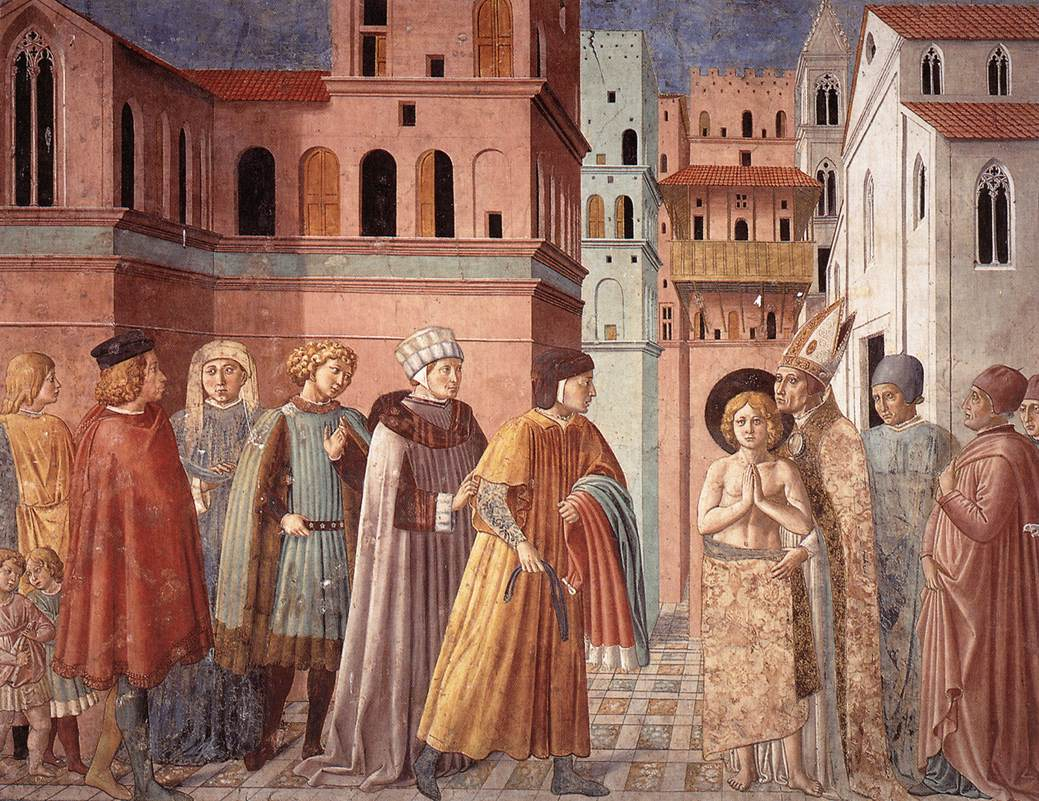 Scenes from the Life of St Francis (Scene 3, south wall)