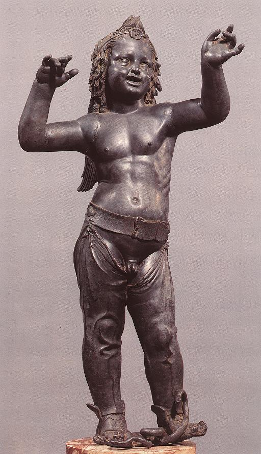 Allegoric Figure of a Boy (Atys), front view