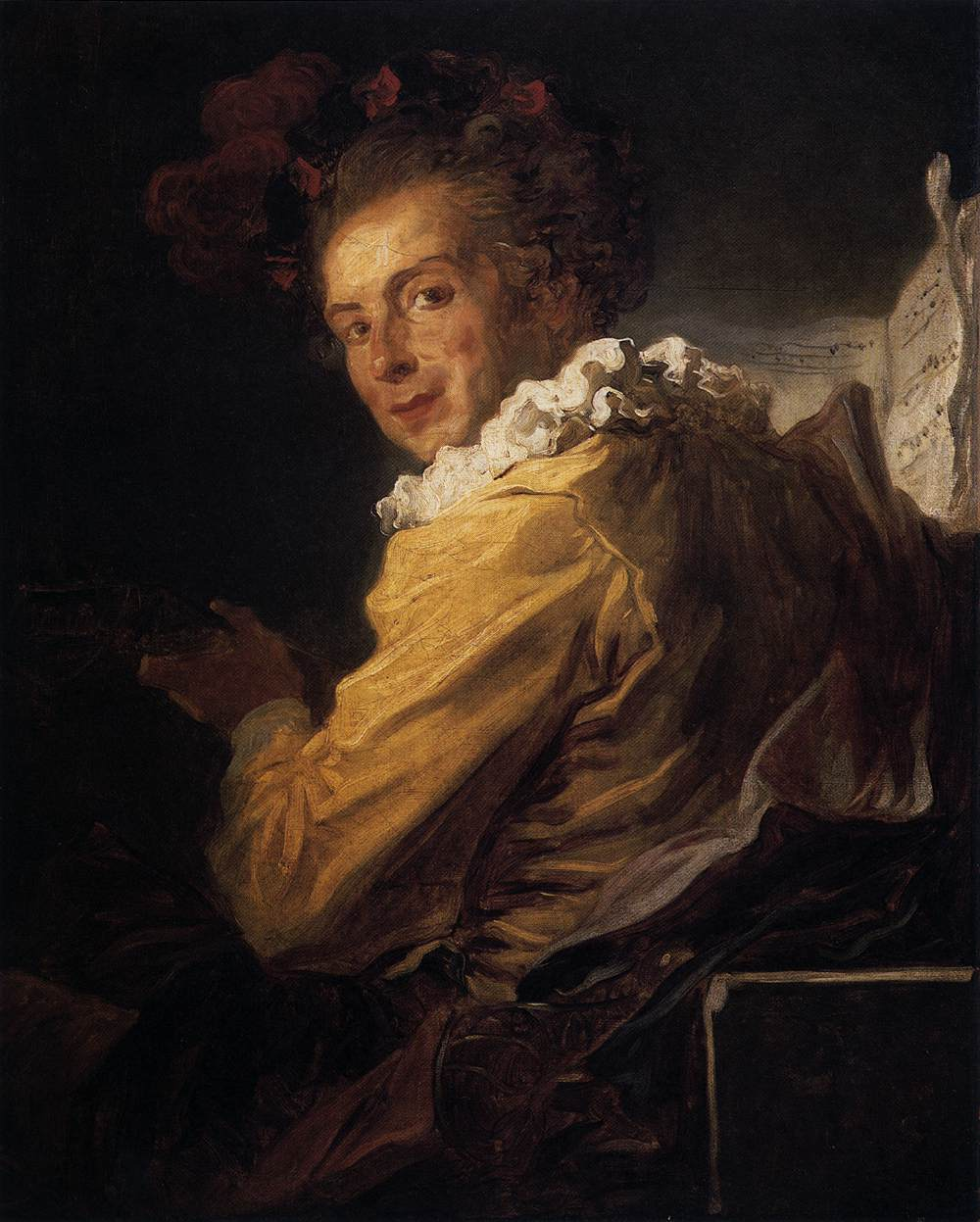 Monsieur de la Bret�che (Fanciful Figure)