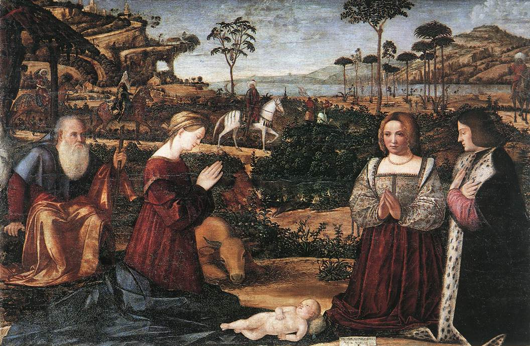 Holy Family with Two Donors