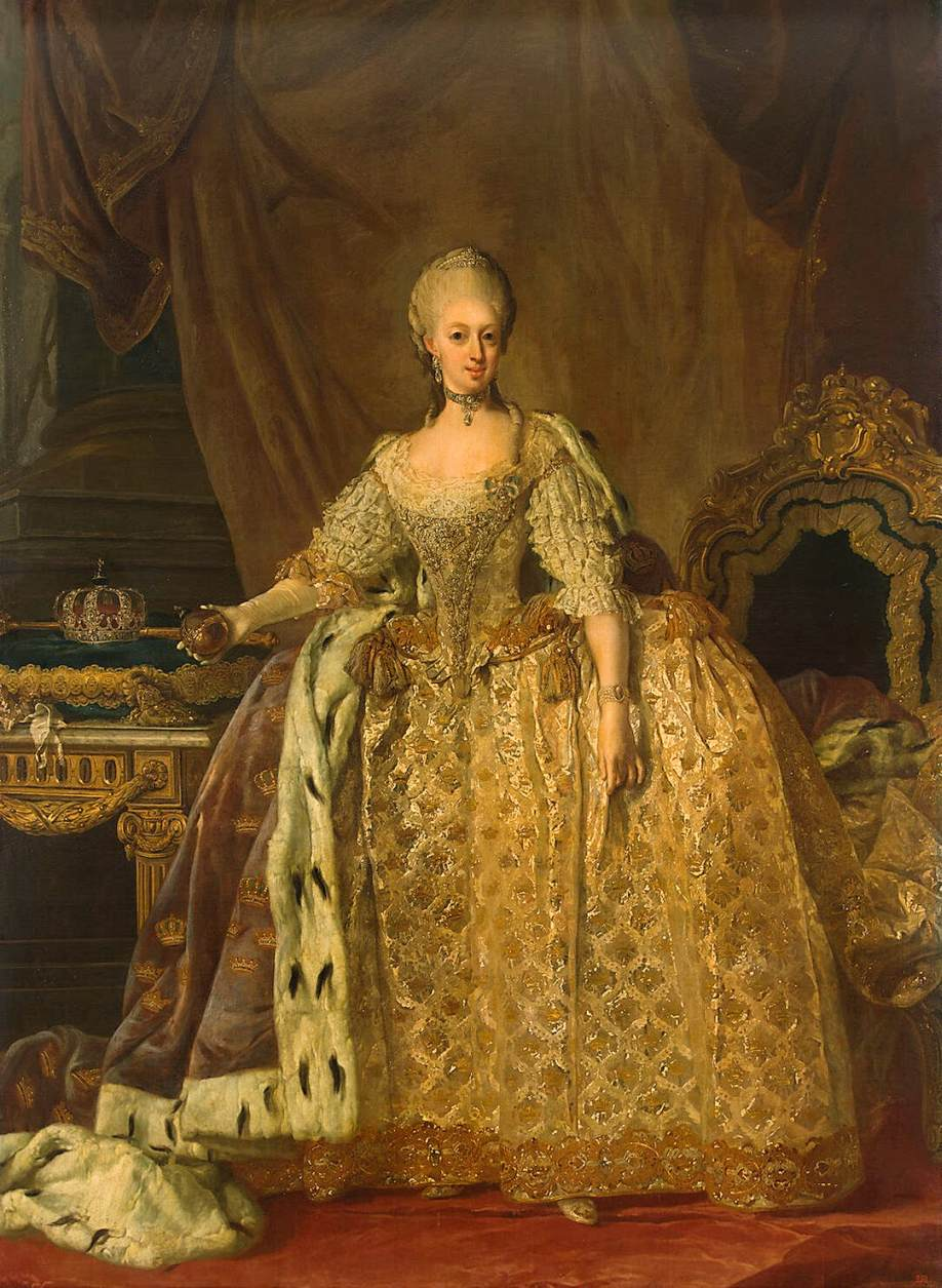 Portrait of Queen Sophie-Magdalene