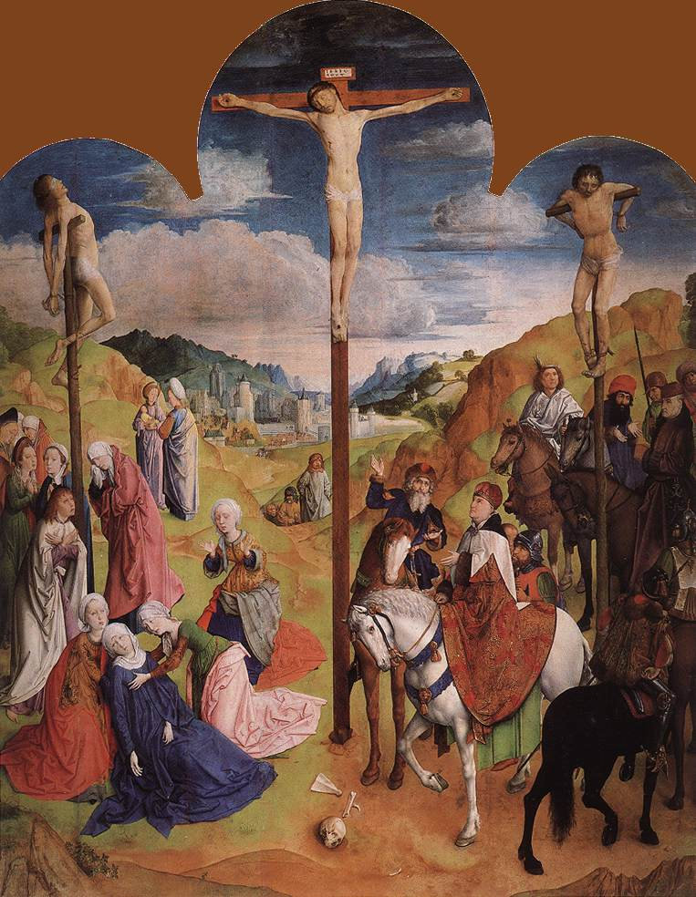 Calvary Triptych (central panel)