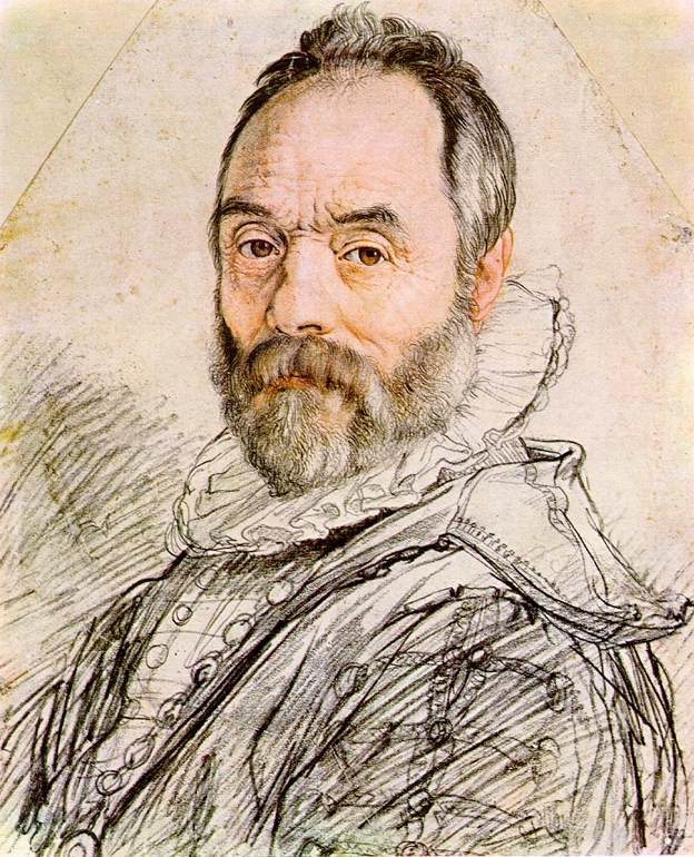 Portrait of Sculptor Giambologna