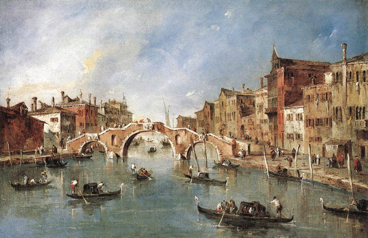 The Three-Arched Bridge at Cannaregio