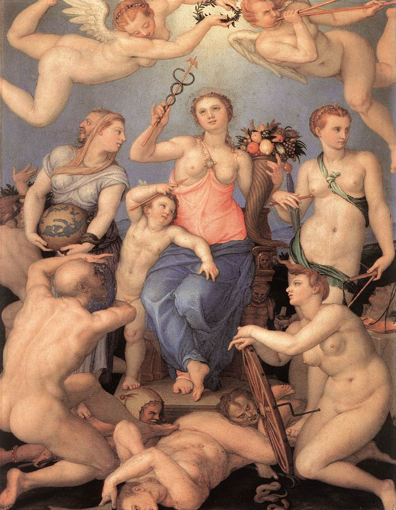 allegory-of-prudence Paints Art