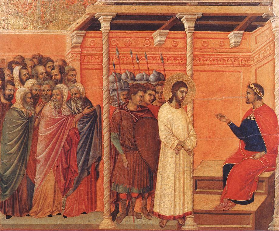 Christ Before Pilate Again