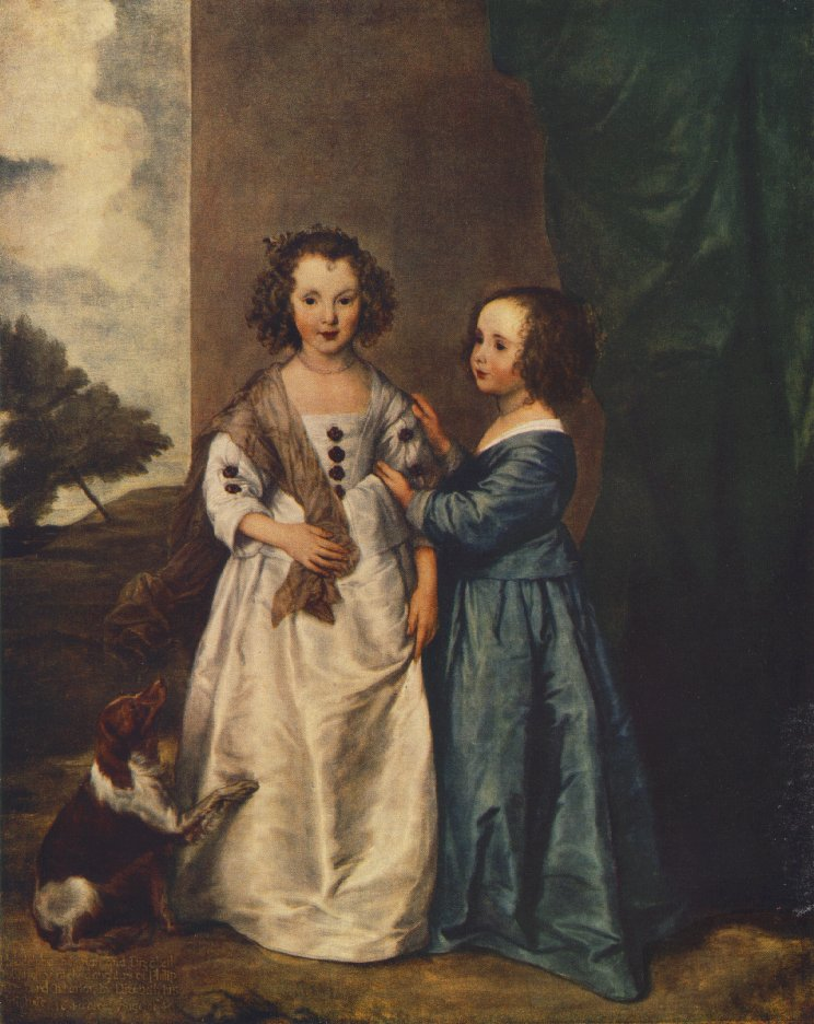 Portrait of Philadelphia and Elisabeth Cary