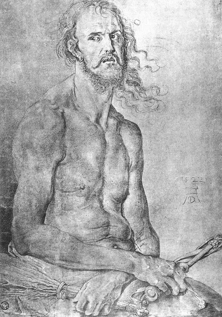 Self-Portrait as the Man of Sorrows