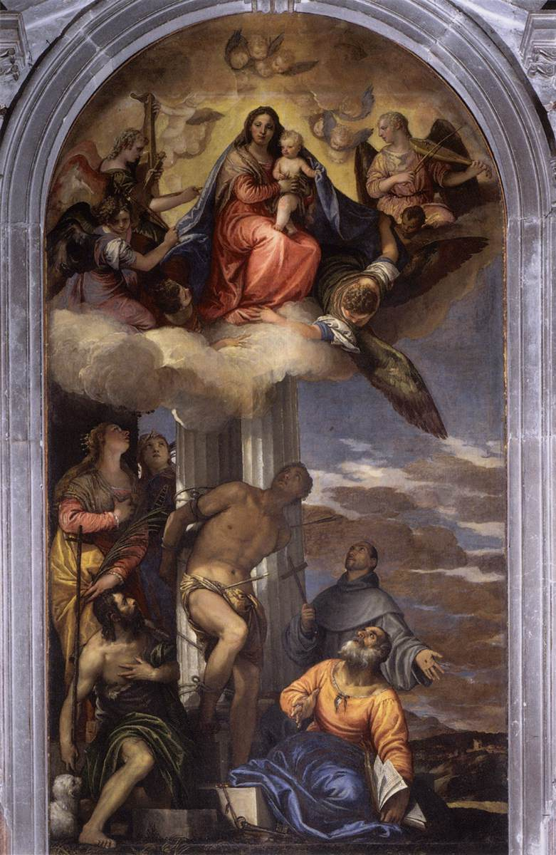 Virgin in Glory with Saints