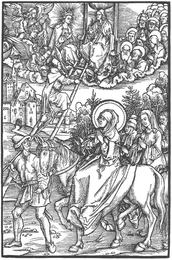 Illustration to Revelationes Sancte Birgitte