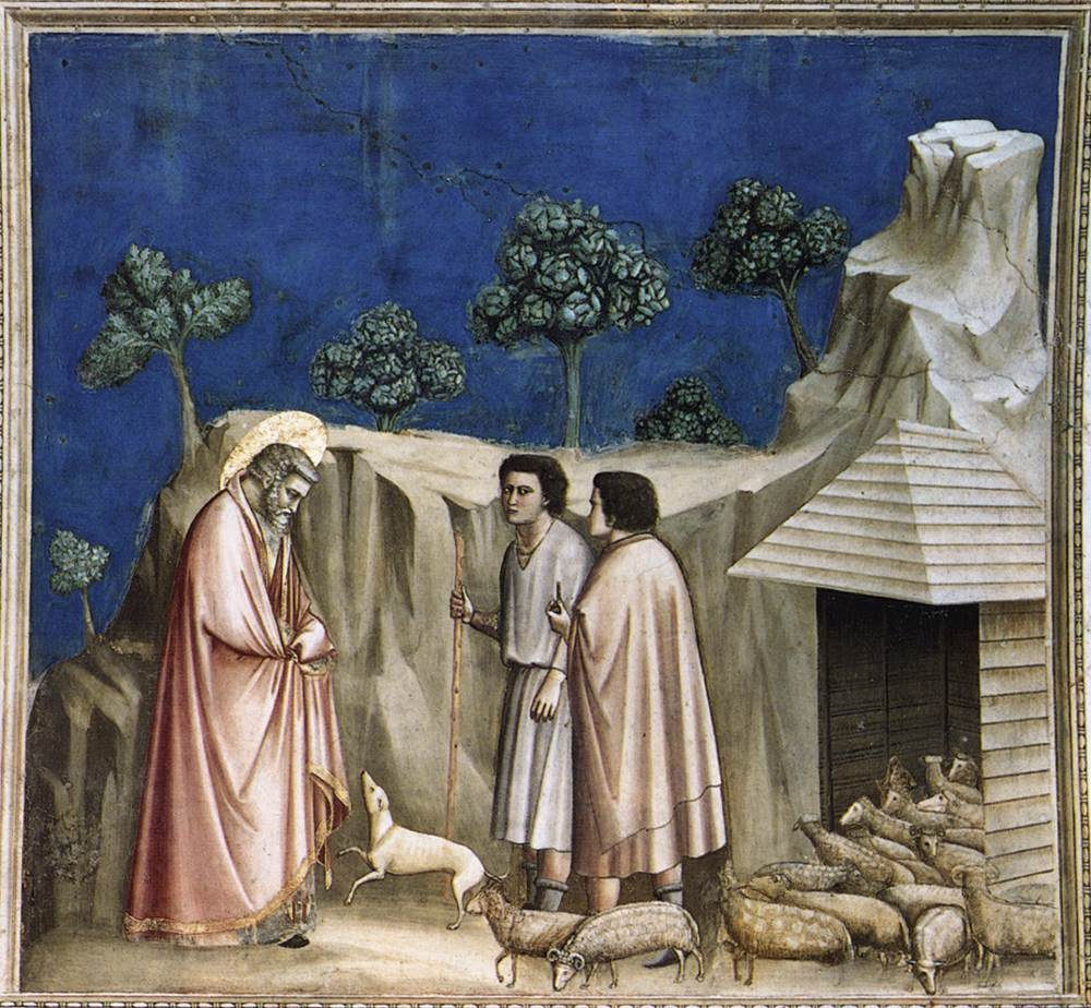 No. 2 Scenes from the Life of Joachim: 2. Joachim among the Shepherds