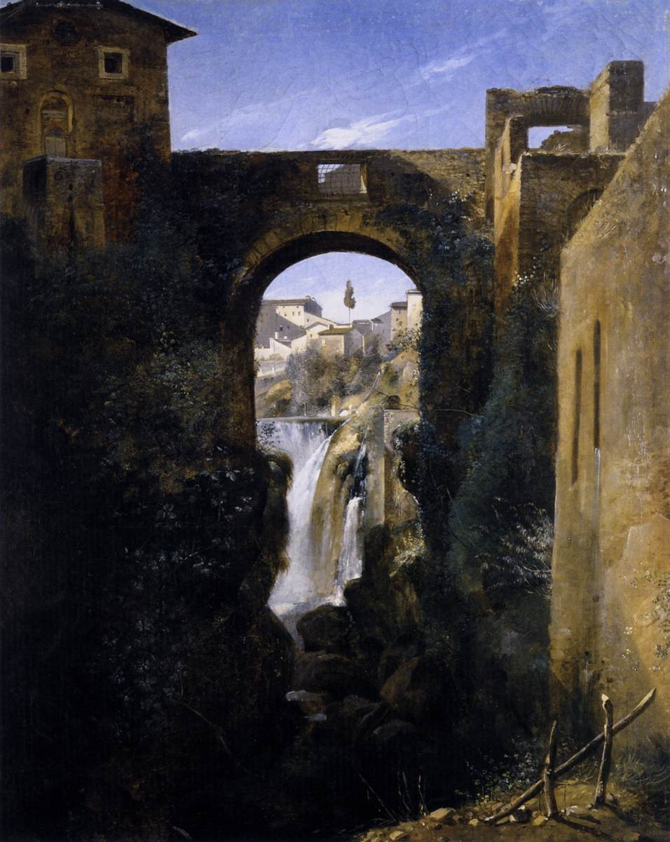 The San Rocco Bridge and the Grand Waterfall at Tivoli