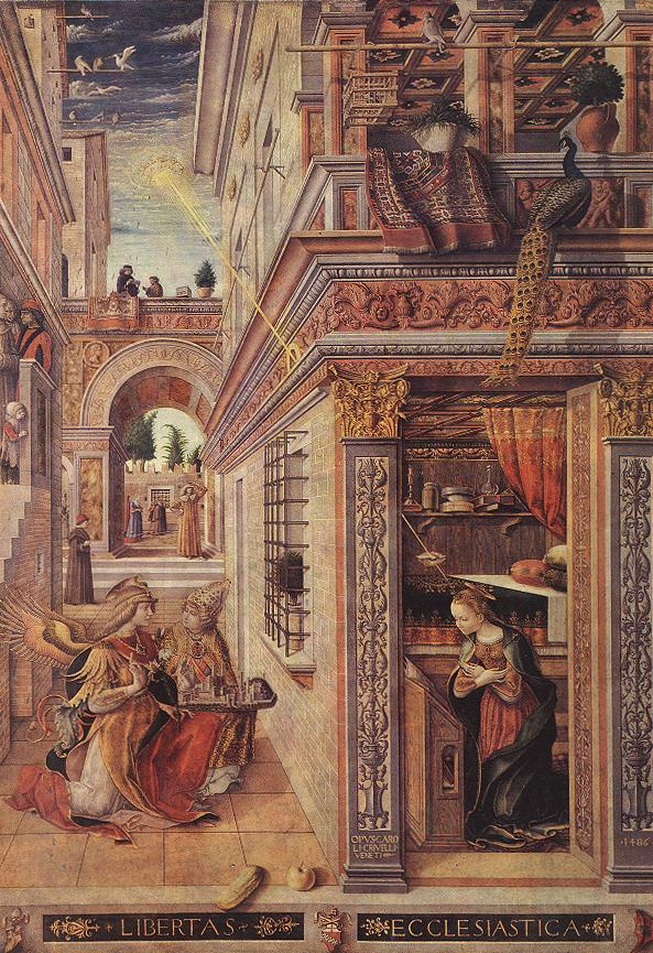 Annunciation with St Emidius