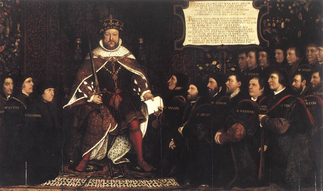 Henry VIII and the Barber Surgeons
