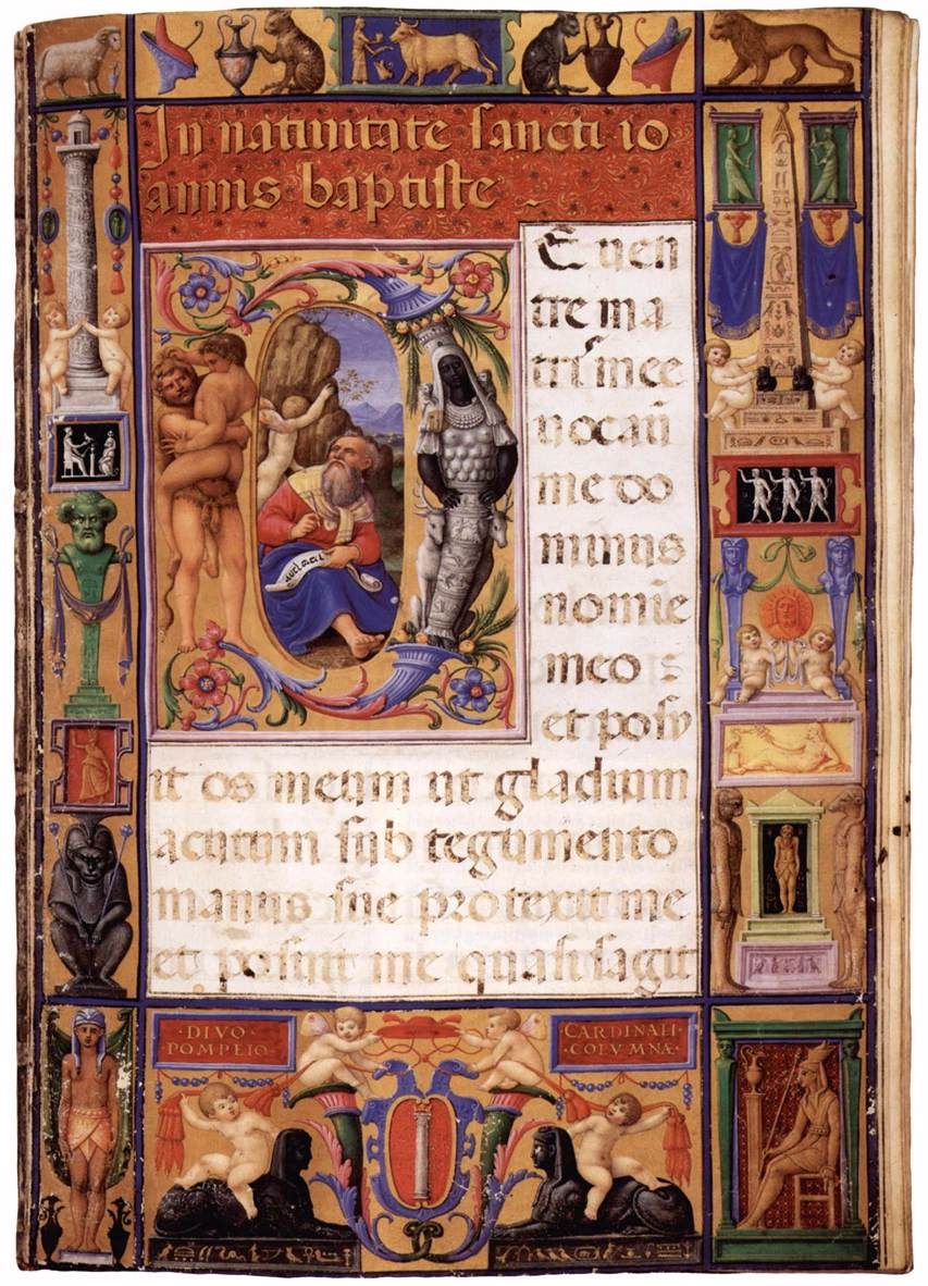 Page from the Colonna Missale