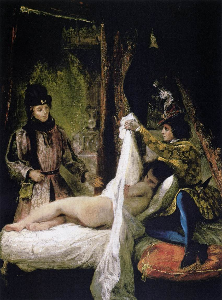 Louis d'Orléans Showing his Mistress