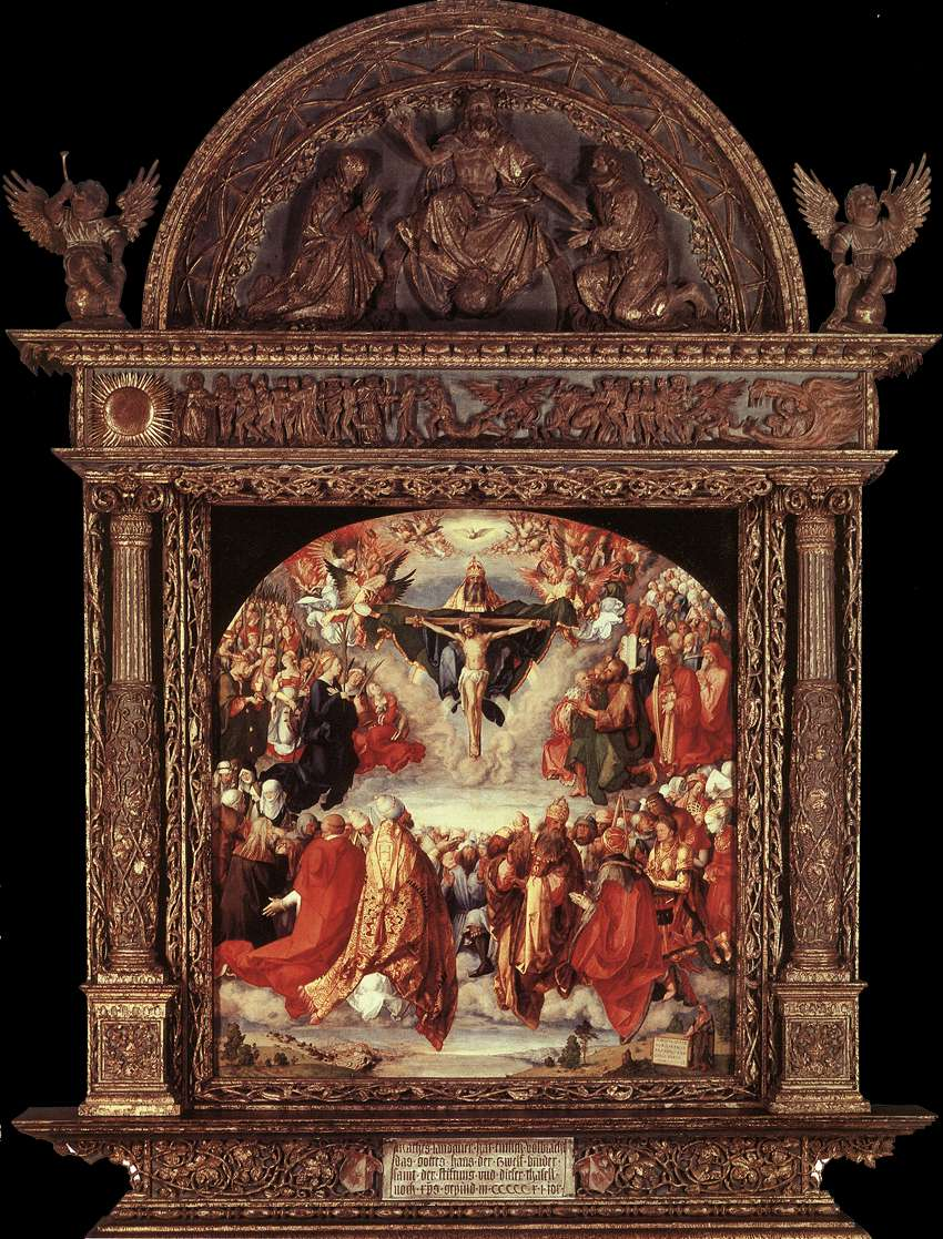 The Adoration of the Holy Trinity (Landauer Altar)