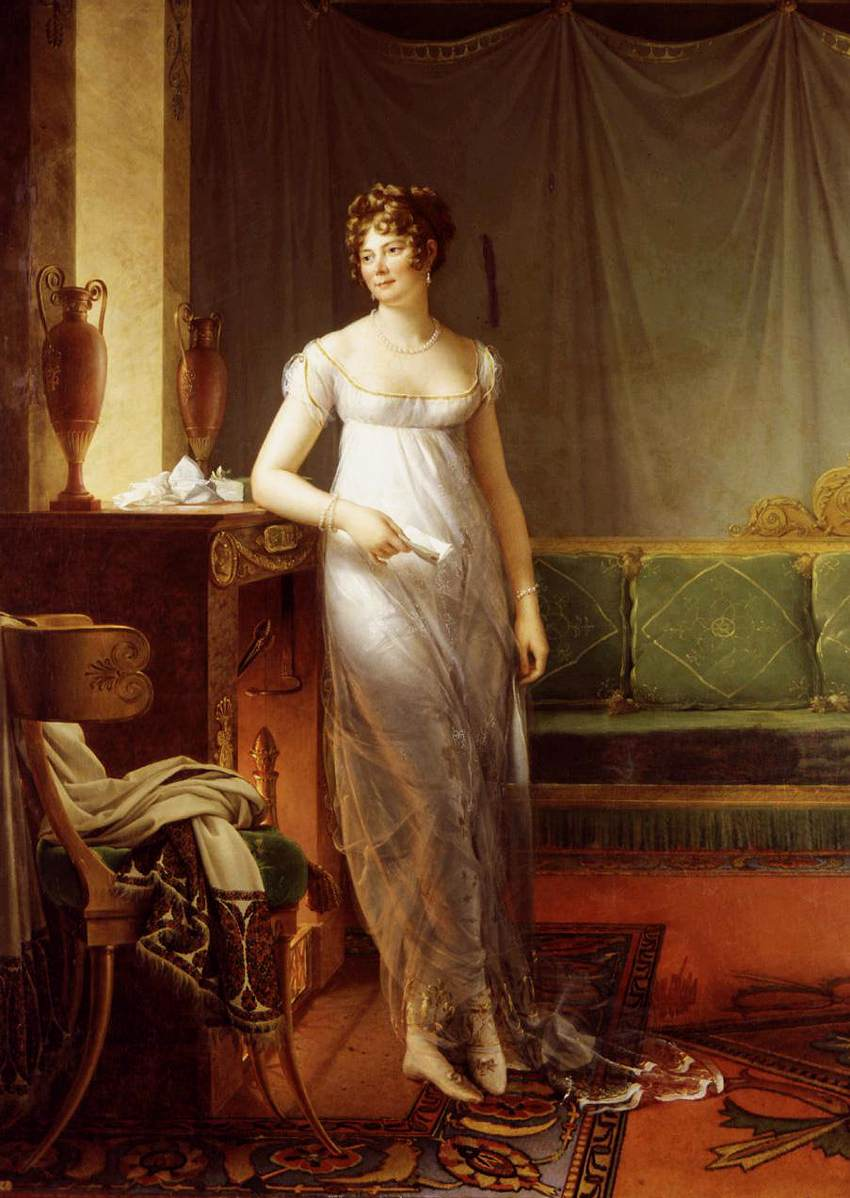 Portrait of Catherine Worlée, Princesse de Talleyrand-Périgord