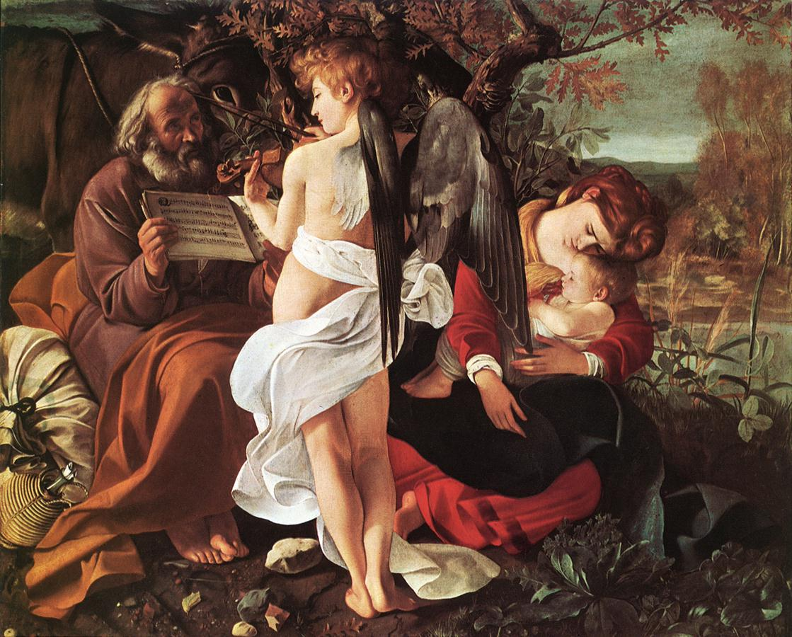 Rest on Flight to Egypt