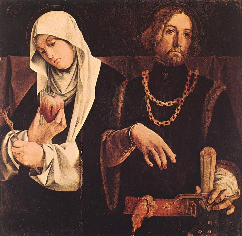 Sts Catherine of Siena and Sigismund