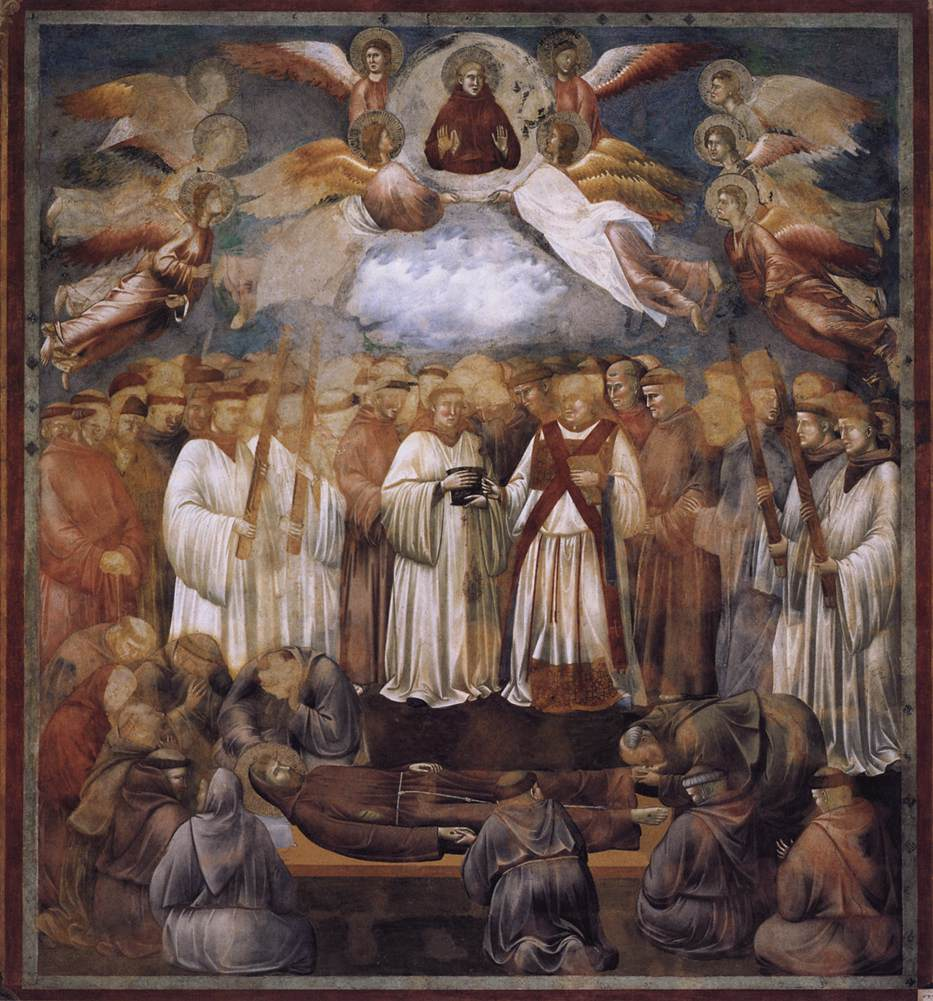 Legend of St Francis: 20. Death and Ascension of St Francis