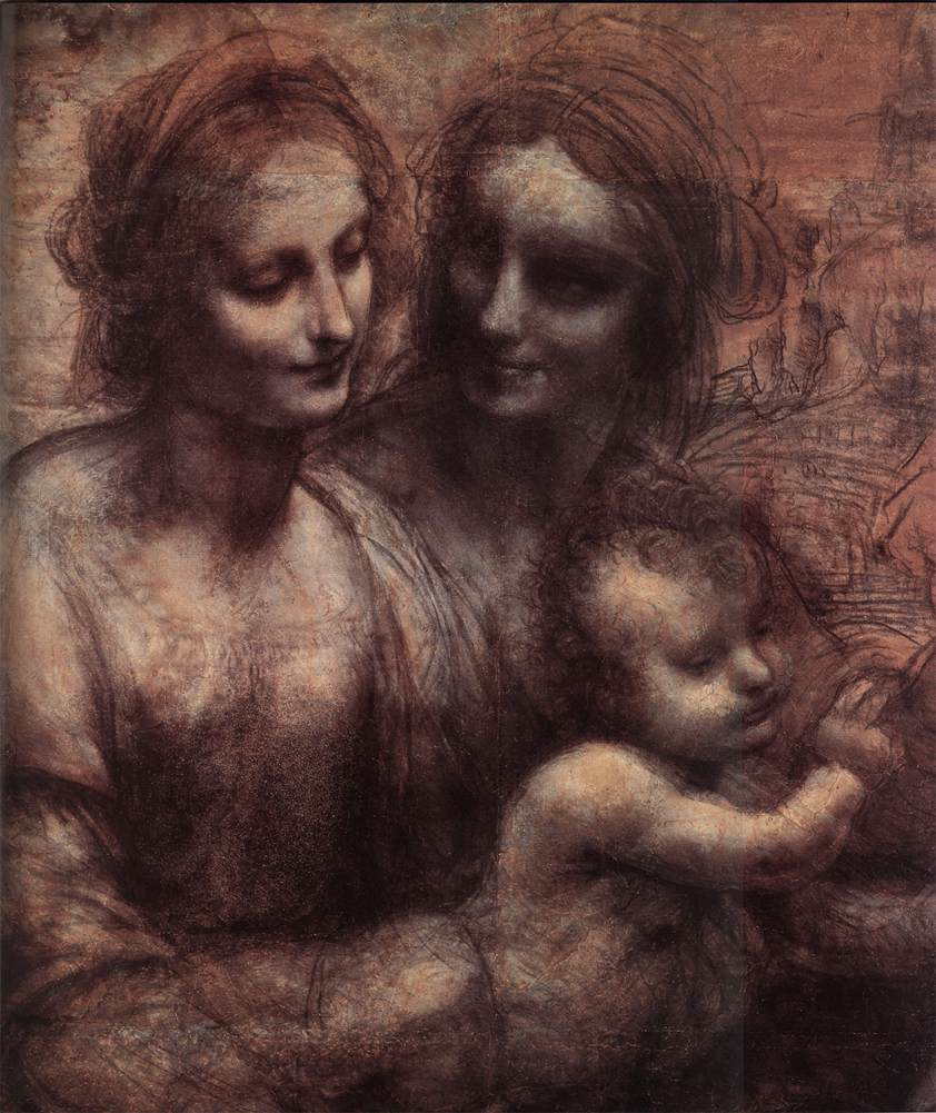 DaVinci's Madonna & Child with St. Anne