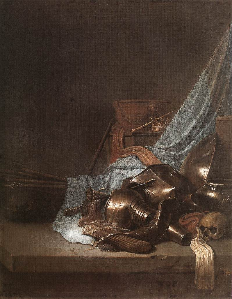 Still-Life with Weapons and Banners