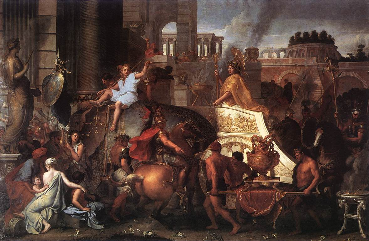 Entry of Alexander into Babylon