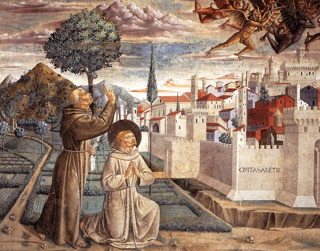 Scenes from the Life of St Francis (Scene 6, north wall)