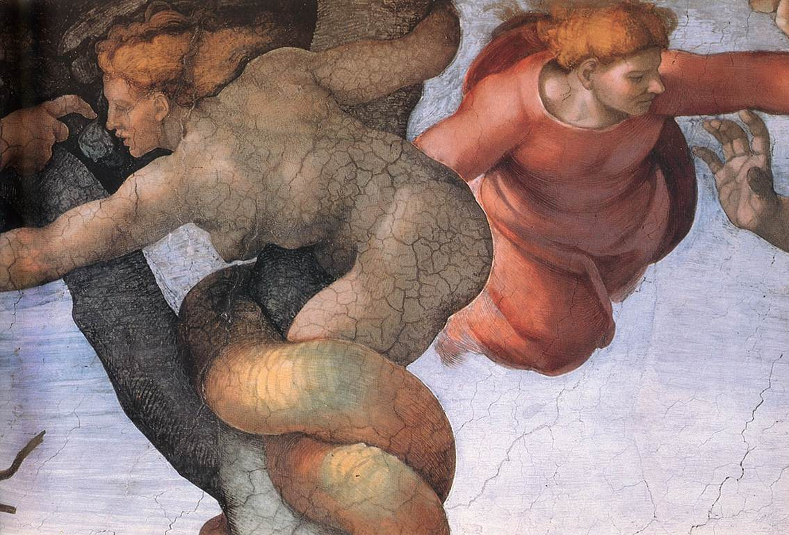 expulsion from the garden of eden The image above is titled the expulsion from the garden of eden and was painted by an artist called masaccio sometime after 1423 the work is a.