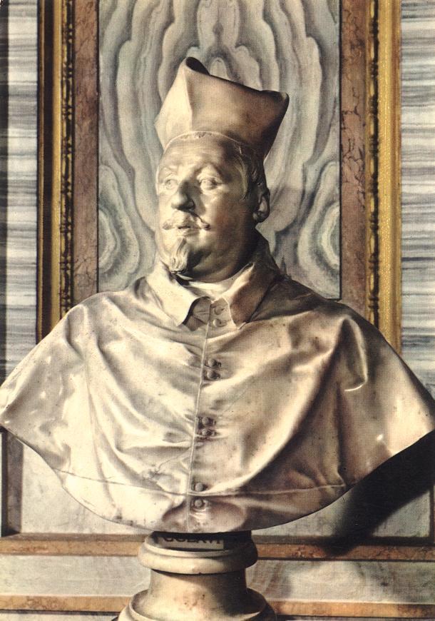 Scipione Borghese Bernini Bust of Scipione Borghese