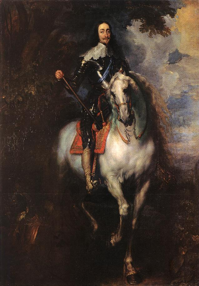Equestrian Portrait of Charles I, King of England