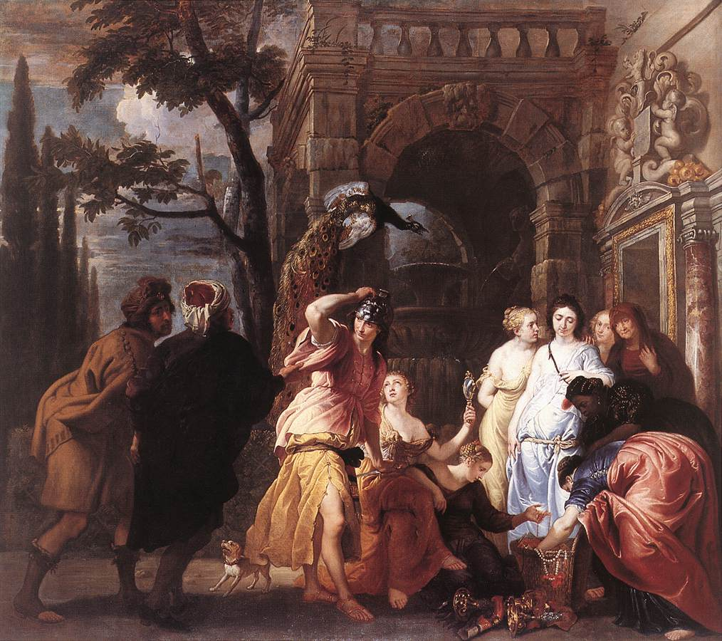 Achilles among the Daughters of Lycomedes