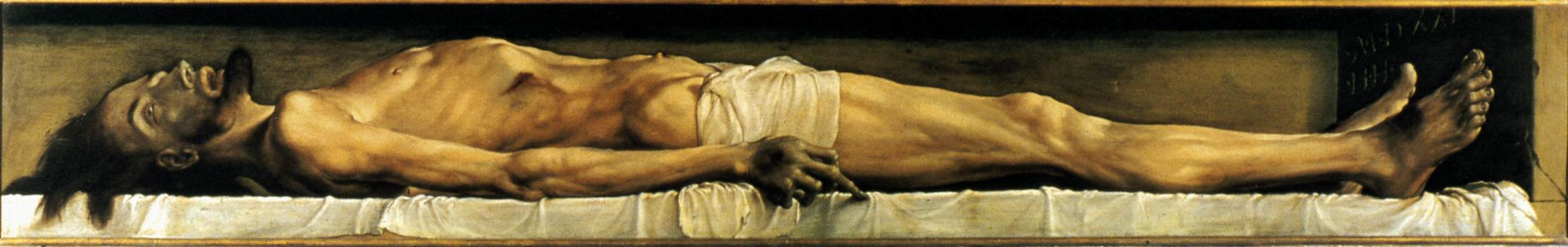 The Body of the Dead Christ in the Tomb