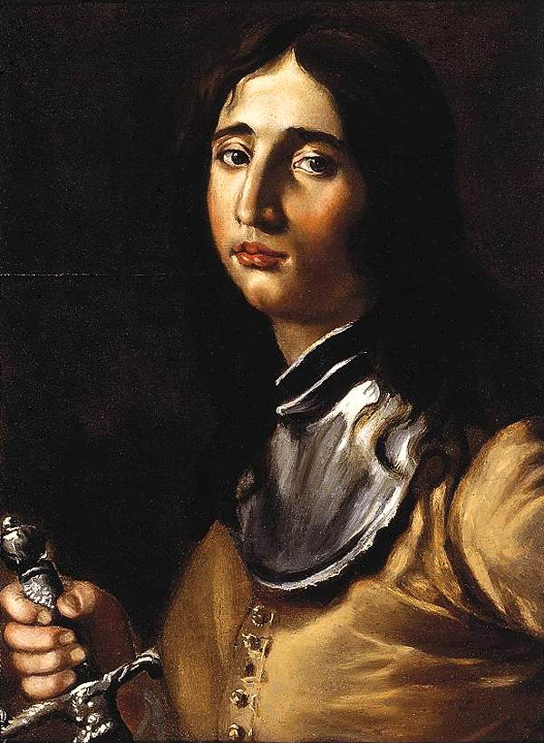 Portrait of a Young Soldier with a Lance