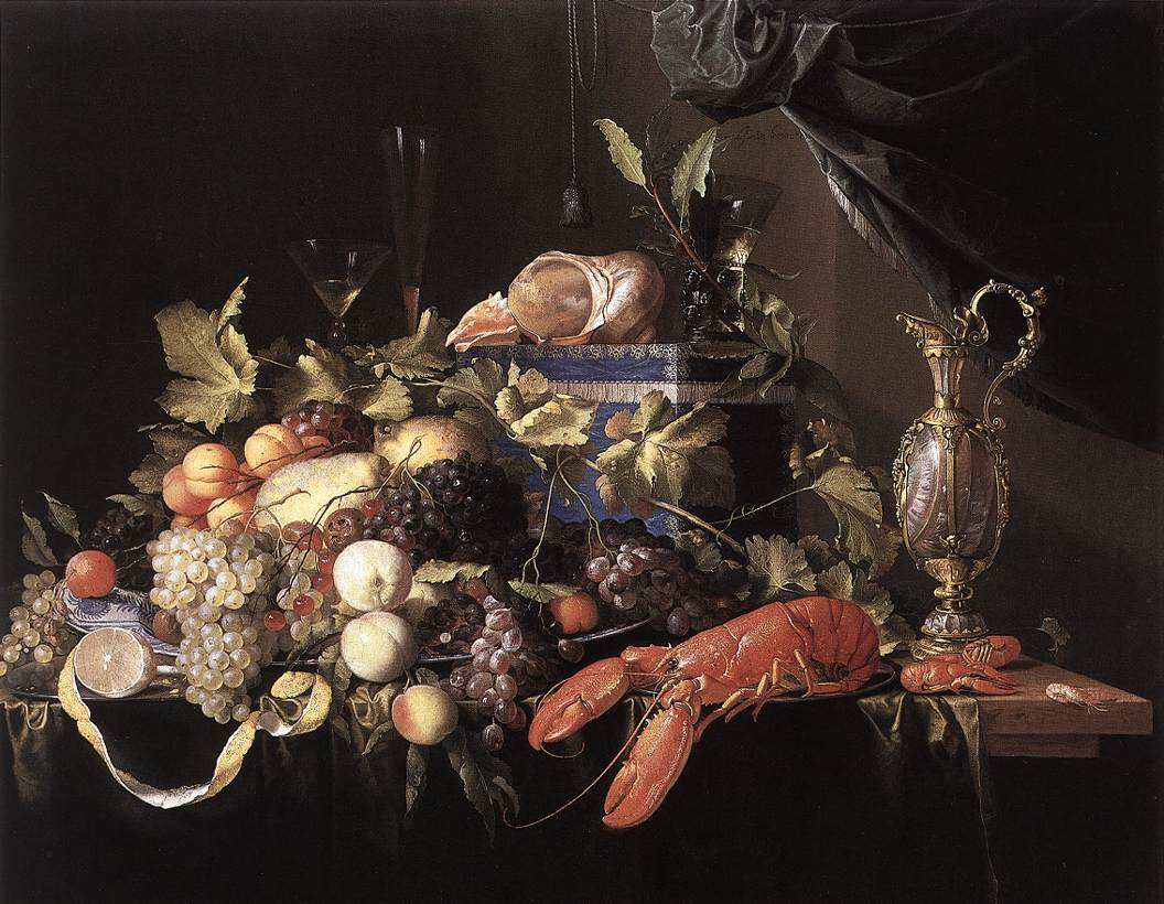 Still-Life with Fruit and Lobster