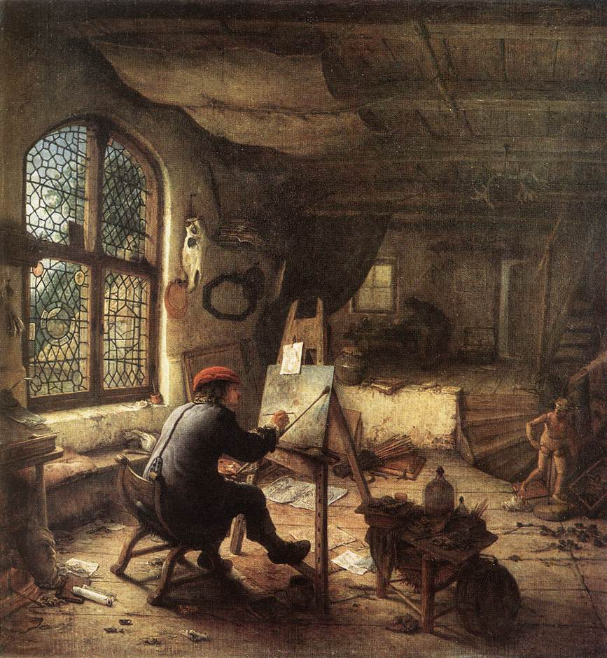 The Painter in His Studio