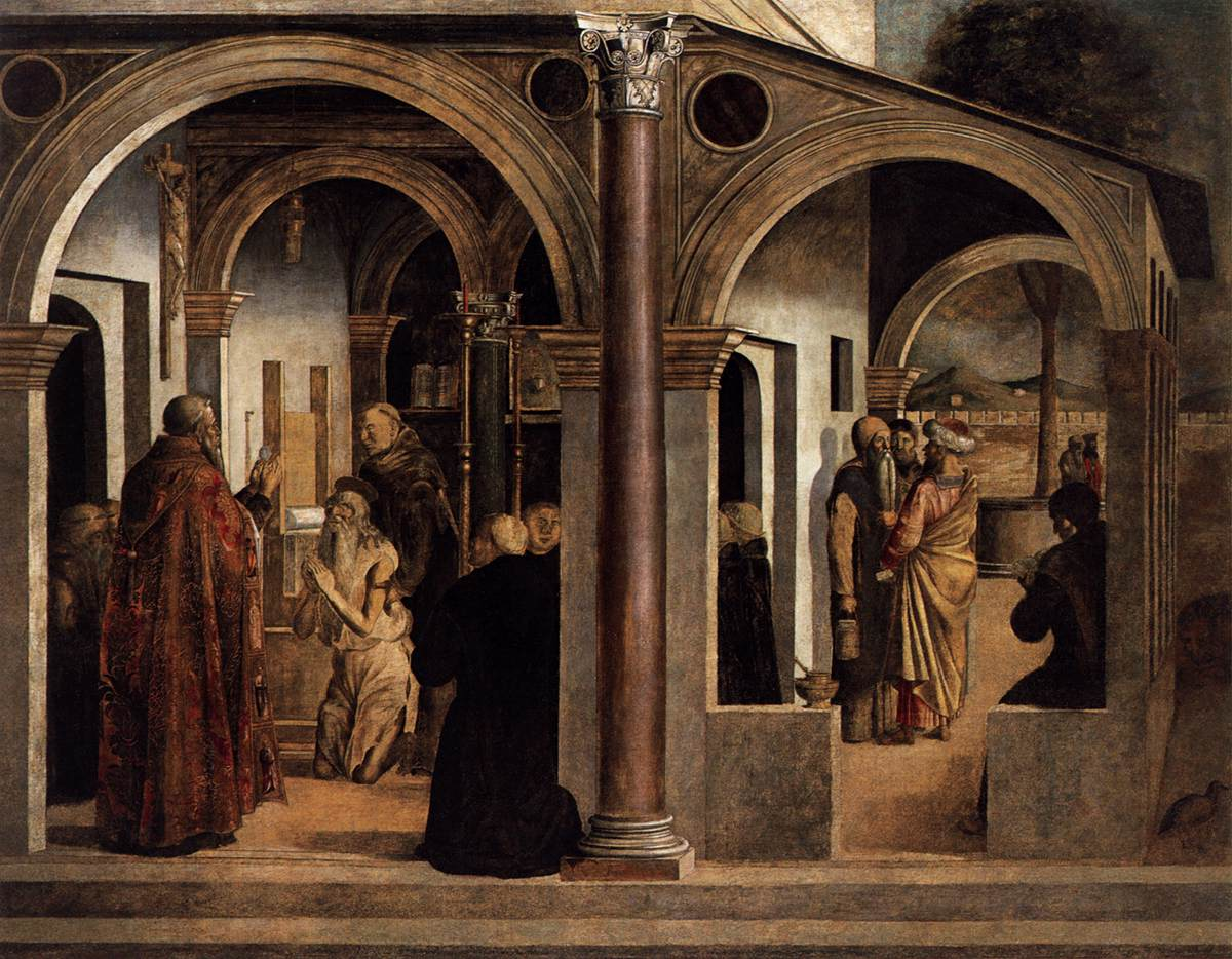 Communion of St Jerome