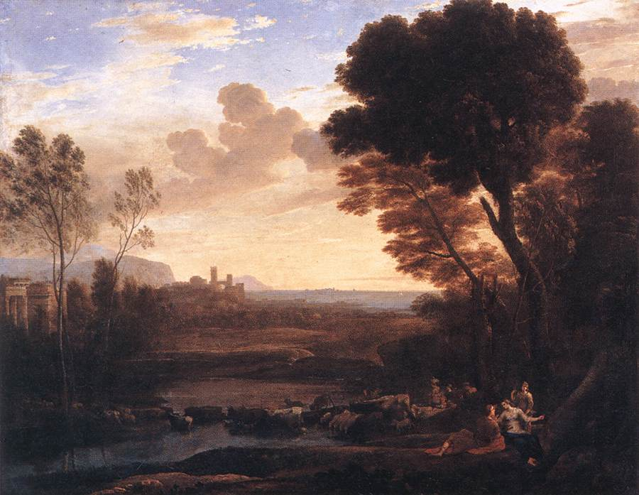 Landscape with Paris and Oenone
